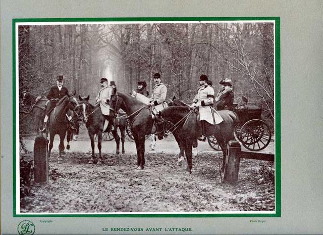le rendez-vous avant l'attaque mars 1910