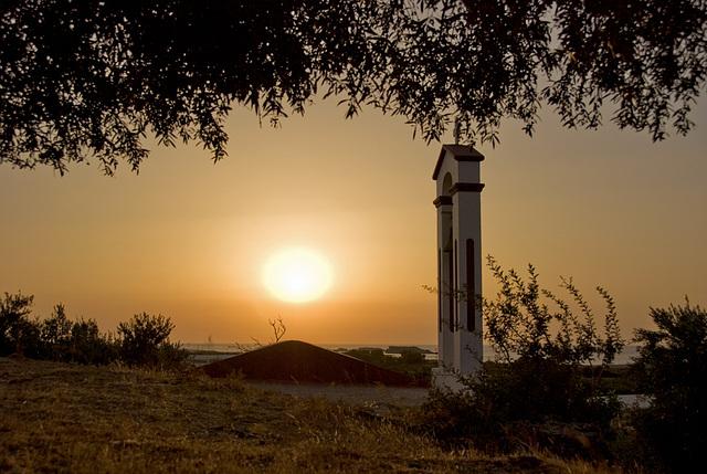 Sunset chapel........