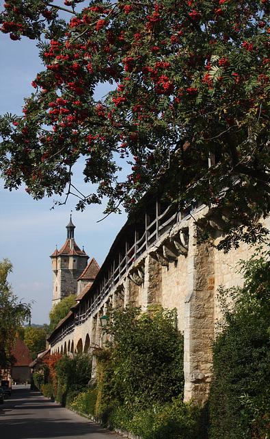 Stadtmauer am Klingenschütt