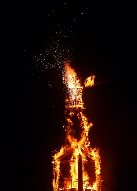 The Man Burning & Still Exploding (1251)