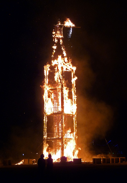 The Man Burning (1254)