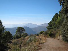 The Alcazar Nature Reserve in the Sierra Tejeda