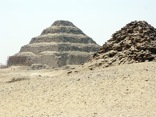 Stepped Pyramid in Saqqara