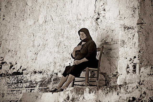 Cretan Woman