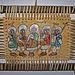 Peinture éthiopienne sur cuir