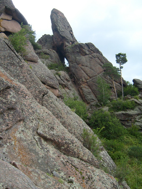 naturparko proksime de Krasnojarsk (1)
