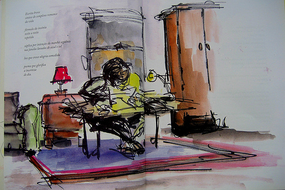Brief Writing (illustration)