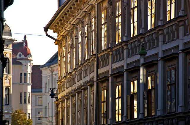 2 hours in Graz - 065 - Enlightened Facade