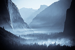 yosemite in the morning