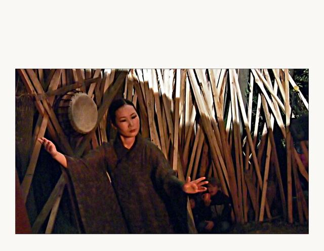 "Hwajeong Tsche 's fire dance : ""Daseonmu"""