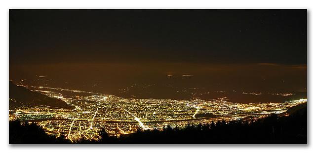 Grenoble, la nuit