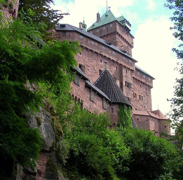 Haut Koenigsbourg en Alsace