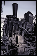 Steam locomotive 97.217 - Detail