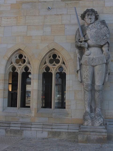 the town hall in Halberstadt