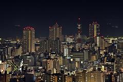 Kobe by night