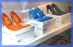 High tide heels / Chaussures pour marée haute - Escarpins de mer pour Sirène sexy / Sexy mermaids swimming Pumps.