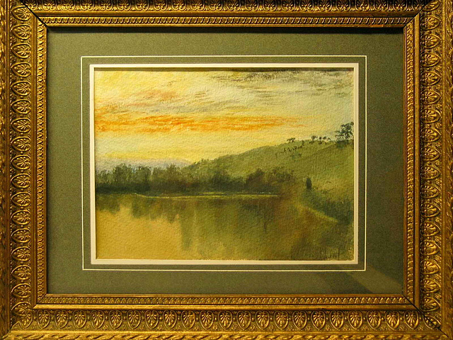 1292  0991a Petworth Lake from JMW TURNER
