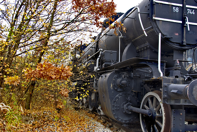 Autumn Locomotive