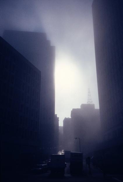 Fog on Beacon Hill