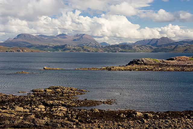 Across Gruinard Bay