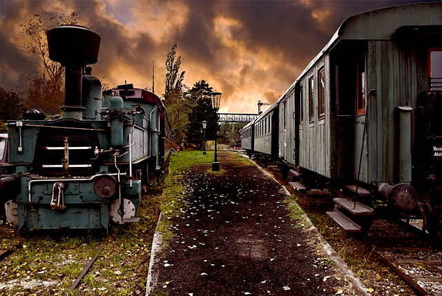 Station in the past..............