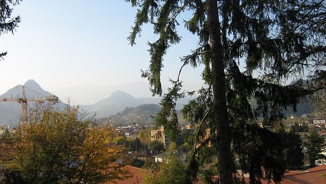 Aŭtuno en montaro  Perĝine- Trento