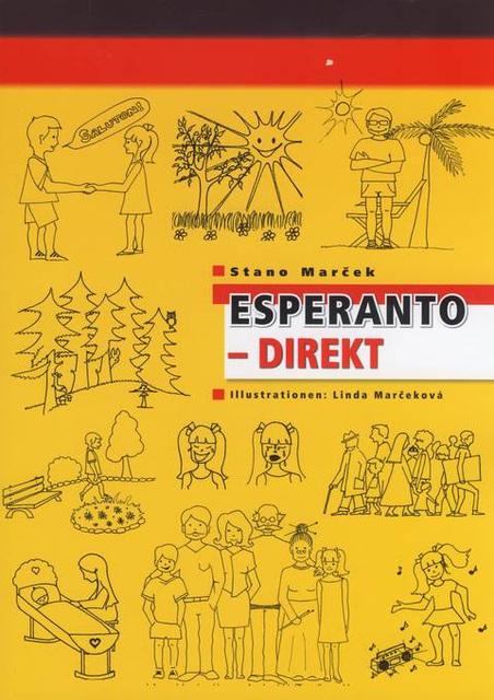 """Lernolibro """"Esperanto direkt"""" de Stano Marĉek"""