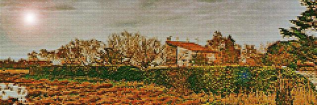 tableau de grand mere