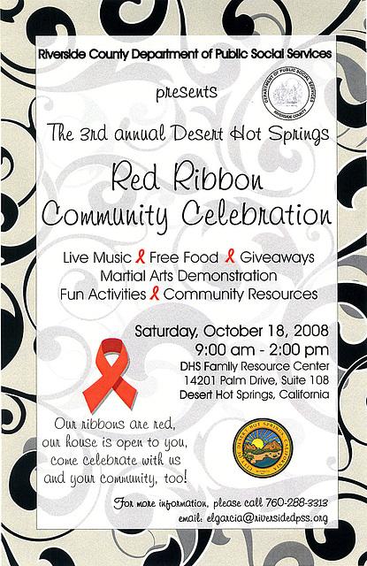 Red Ribbon Community Celebration