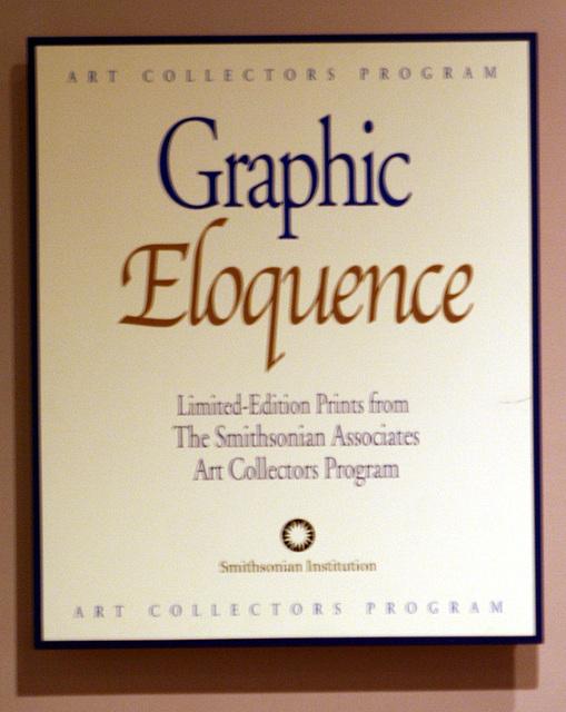 08.GraphicEloquence.SmithsonianRipleyCenter.SW.WDC.28feb09