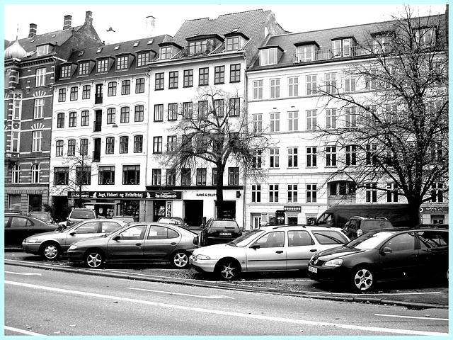 Bang & Olufs....en noir et blanc - In B & W- -Copenhague. Danemark.