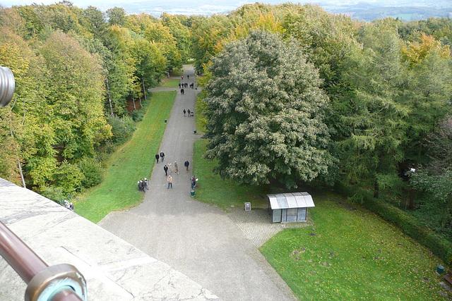 Das Hermannsdenkmal bei Detmold im Lipperland