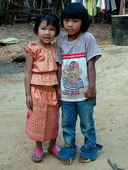 Kids in Baan Khok