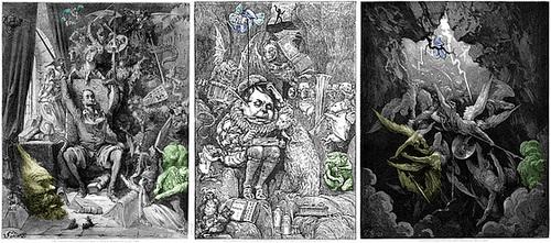 Doré (1863), Holiday (1876), Doré (1866)