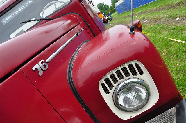 Oldtimershow Hoornsterzwaag – Scania-Vabis 76 truck