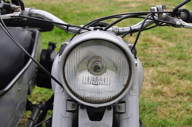 Oldtimershow Hoornsterzwaag – 1975 Ural M63 motorcycle headlight