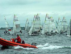 Segelwettbewerb bei Kieler Woche 2005