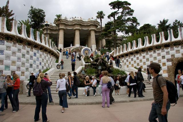 Eingang zum Parc Güell