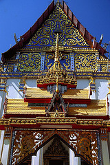 That Phanom temple gable