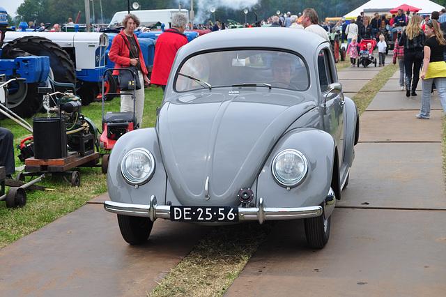 Oldtimershow Hoornsterzwaag – 1950 Volkswagen Beetle