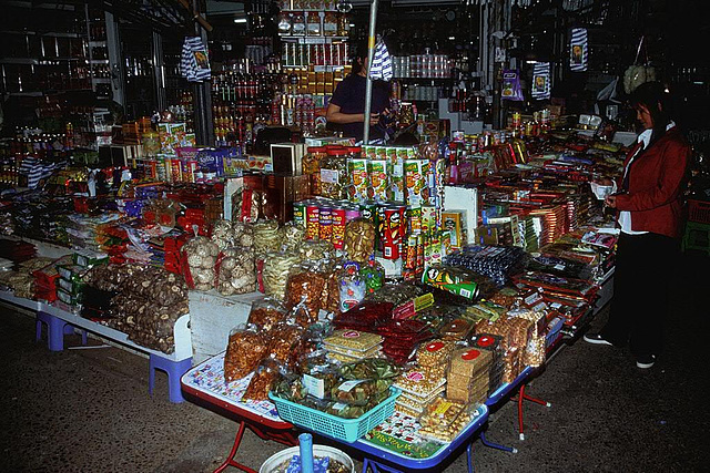 Indochina market in Mukdahan