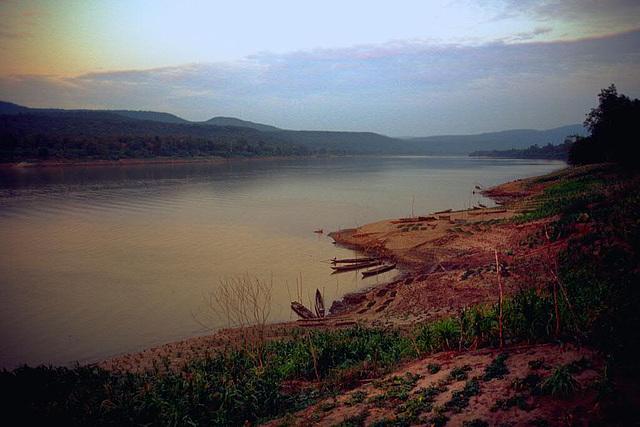 Mekong in the evening light