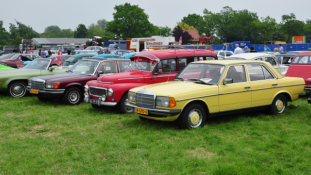 Oldtimershow Hoornsterzwaag – The colours of the past