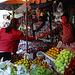 At the market in Sri Saket