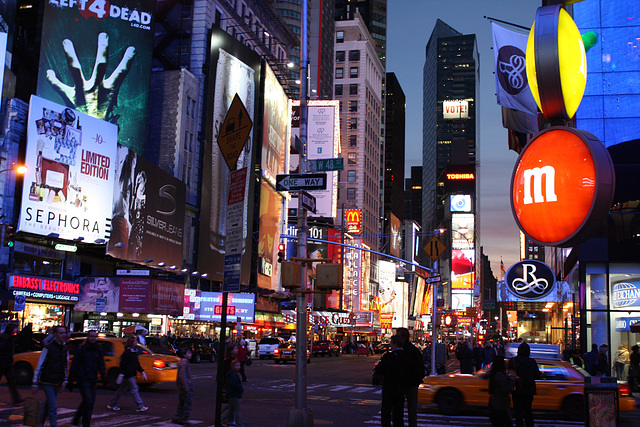 NYC02112008BklnBrMarathonTSquare 283