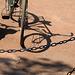 Le vélo et son ombre