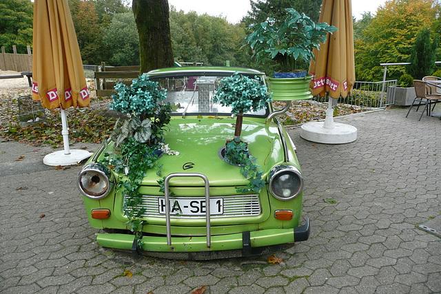Ein Trabant - alt und schön -