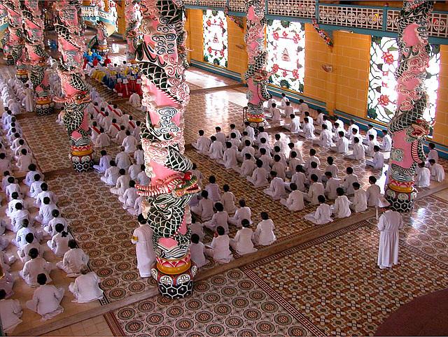 Cao Đài Holy Mass is every day
