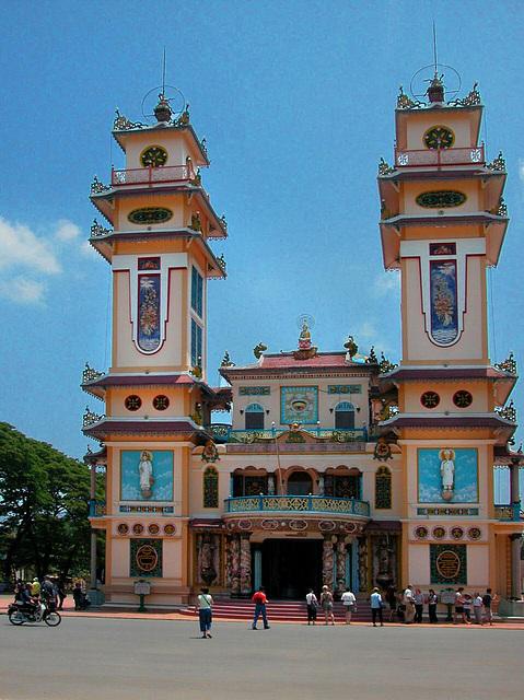 Cao Đài Holy See (church) in Tây Ninh