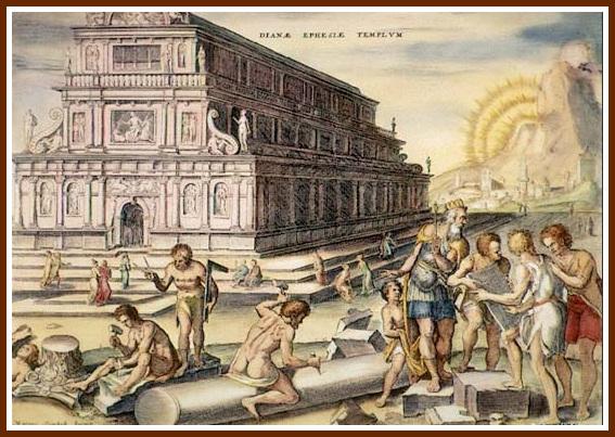 Temple d'Artemise à Ephèse